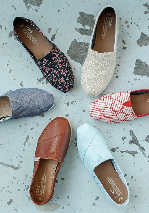 No matter the design or pattern, every time you purchase a pair of TOMS Shoes, a child in need also receives a pair of new shoes.