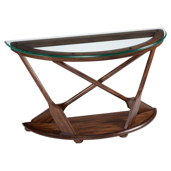 Sofa Cover  Magnussen Home Beaufort Console Table Hardwood Solids Oak Veneers