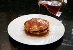 Make These Amazing Applesauce Pancakes For A Special Breakfast: Applesauce Pancakes With Apple Cider Syrup