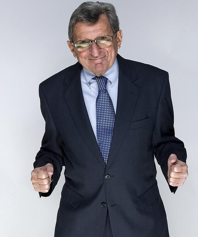 """Believe deep down you are destined to do great things.""  Forever in my heart Joe Paterno!"