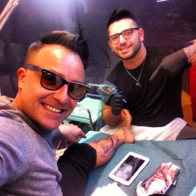Artist tattoo Max36 / Dany