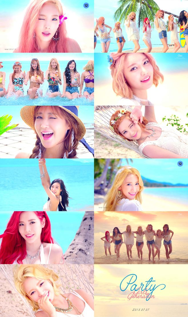 D-3 SNSD Party Come back