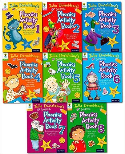 Oxford Reading Tree Julia Donaldson's Songbirds Phonics Activity Collection 8 Books Set: Amazon.co.uk: Julia Donaldson: 9780192743114: Books