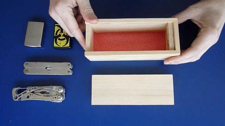 Haz una Caja con Cerradura Secreta ( 2º modelo )