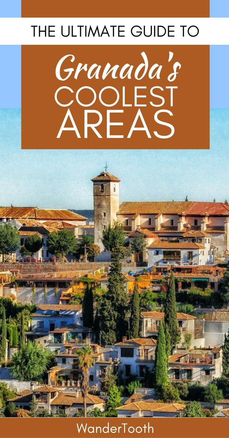 Where to stay in Granada, Spain. Granada best neighborhoods and the best Granada hotels for a trip you won't forget. | Granada Travel Tips - via @wandertooth