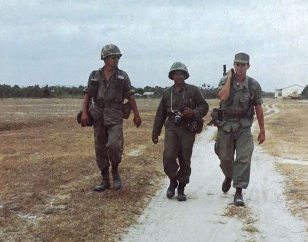 "Sergeant Kermit Harold ""JR"" Yoho, U.S. Army. Master Sergeant Al Chang, U.S. Army"