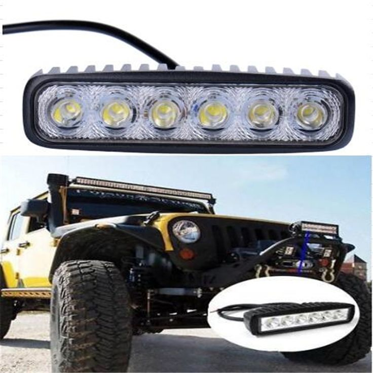 Led Lights For Tractor Trailers : Best ideas about light bars for trucks on pinterest