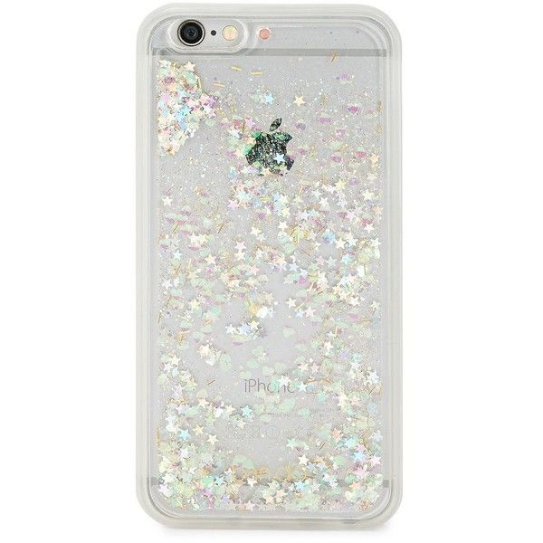 Ban.Do Glitter Bomb 6-6s iPhone Case Cover ($21) ❤ liked on Polyvore featuring accessories, tech accessories, phone cases, phone, tech, gold, apple iphone case, iphone cover case, sparkly iphone cases and glitter iphone case