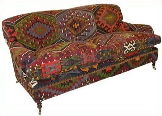 George Smith Kilim Sofa. One Day, I Will Be Able To Afford One Of These. Or  Maybe 2. The Chairs Are Nice Too...... *sigh* Http://georgesmith.com/ ...