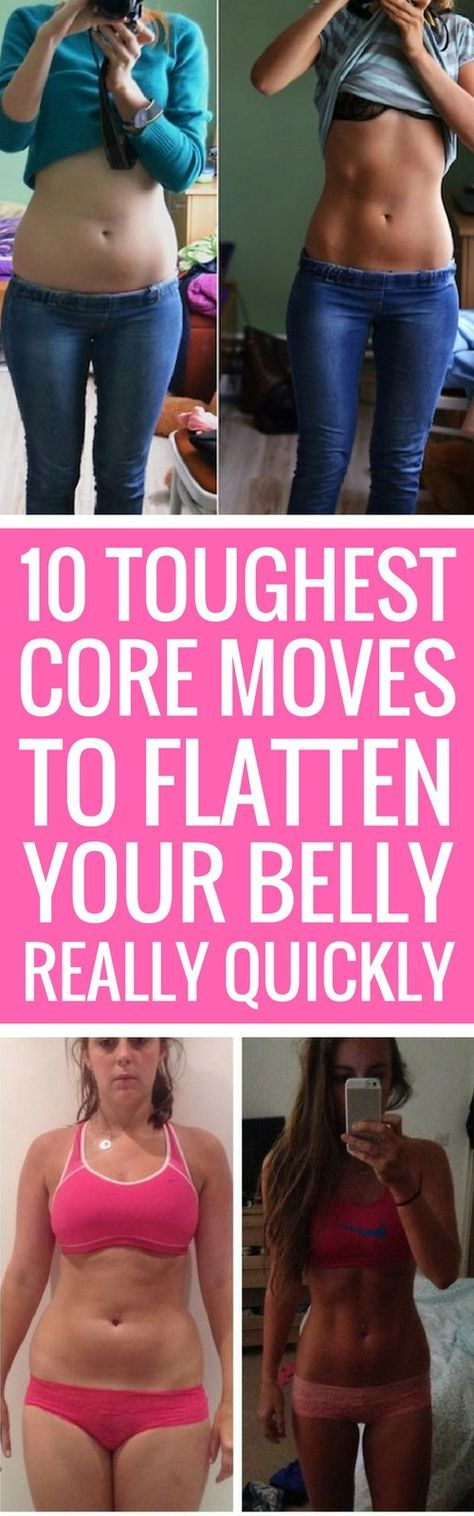 10 Tough Core Exercises To Flatten Your Belly 25 Best