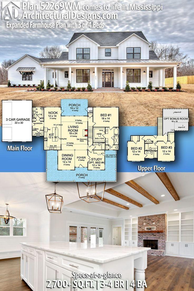 43++ Free farmhouse plans info