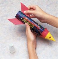 how to make a balloon rocket come back