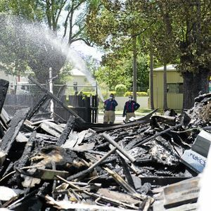 house fire uncovers asbestos #asbestos