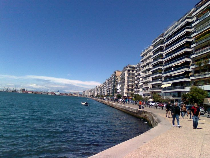 View of Thessaloniki - Seafront
