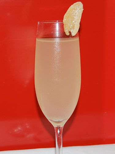 1 1/2 oz. Bacardi Limón 1 oz. Lillet Champagne Fresh ginger Muddle fresh ginger with Bacardi Limón and Lillet; pour into Champagne glass. Top with Champagne and garnish each glass with a piece of crystallized ginger, which can be purchased at a gourmet store. Created by and served at Megu, NYC