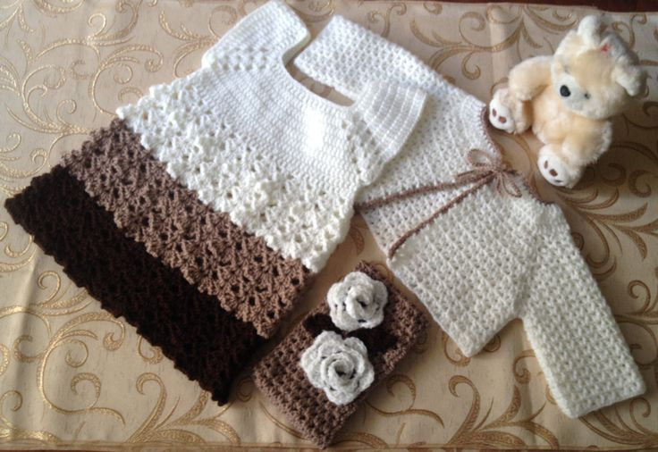 Girl set .crochet, by stellaknittingshop on Etsy