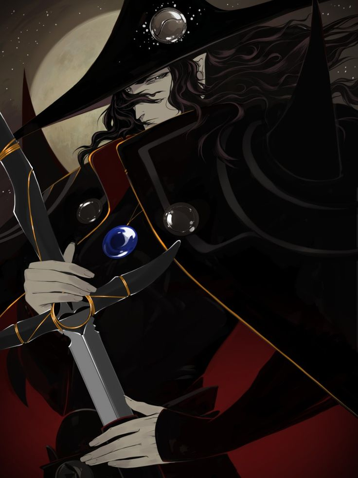 Vampire hunter D (by Pell)