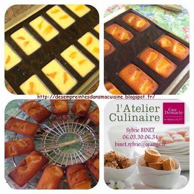 Des Empreintes ... dans ma Cuisine !!!: Financiers aux abricots