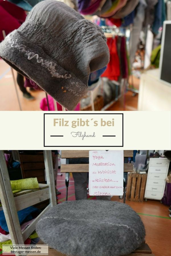 Viel Filz bei Filzhand: Auch Mützen und Kissen.