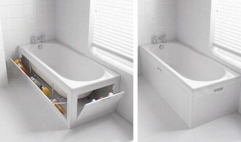 The Stowaway´s Bath Panel Storage System