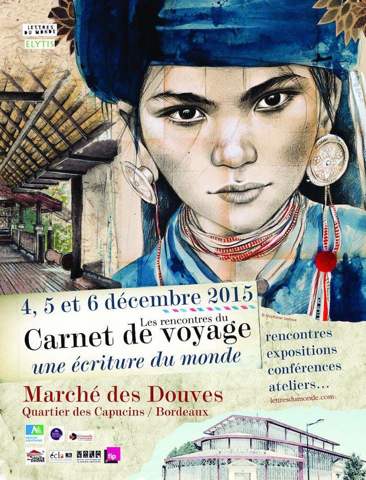 Stéphanie Ledoux - Carnets de voyage: Bientôt à Bordeaux...