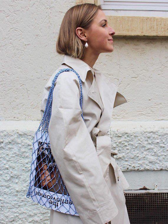 grocery bag summer bag String bag cotton bag