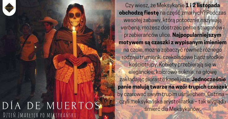 Ciekawostka na dziś. Czy wiesz jak Meksykanie spędzają Dzień Zmarłych?  #silfor #meksyk #diademiertos #1listopada #ciekawostka #travel
