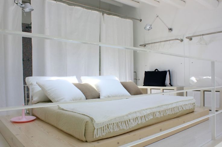 "Loft ""Archimede"", letto matrimoniale - Loft ""Archimede"", double bed"