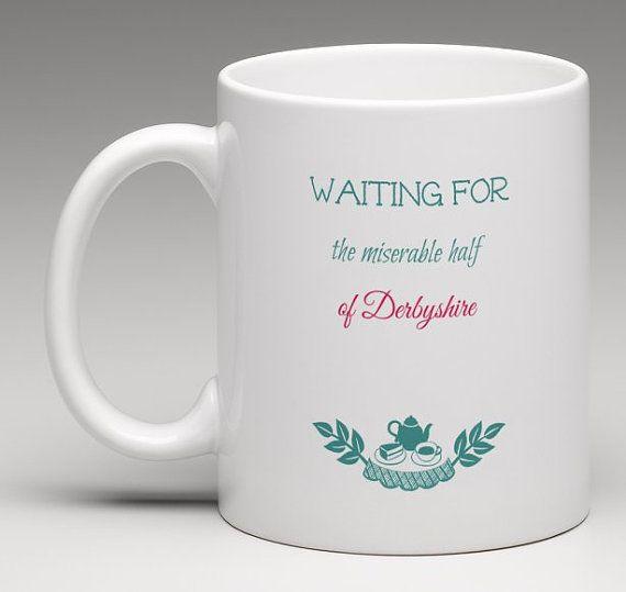 Jane Austen waiting Mr Darcy - Orgoglio e Pregiudizio citazione - Digital Download - Pride and Prejudice printable -