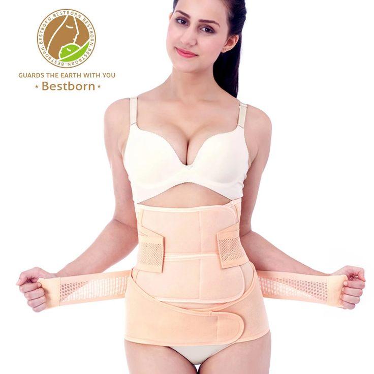 2 Sets de la correa del vientre de maternidad ropa embarazadas mujeres recuperación post parto cinturón Body Shapers cintura Tummy faja cinturón faja fajas