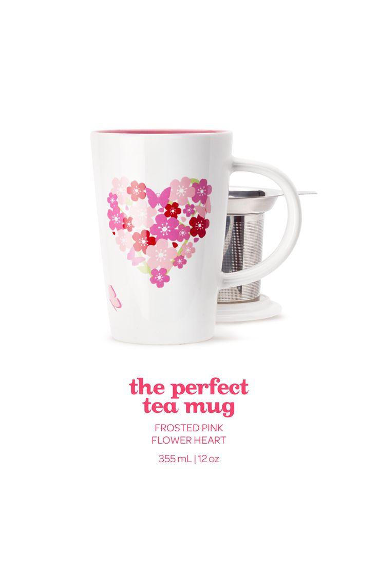This romantic limited edition mug is the perfect way to say it with tea.