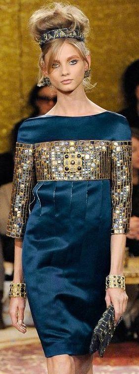 """Chanel """"Paris-Byzance"""" colección inspirada en la emperatriz Teodora"""