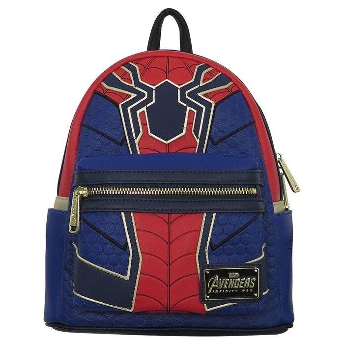 "Marvel Spiderman Large Rolling School Backpack 16/"" Canvas Boy/'s Book Bag"