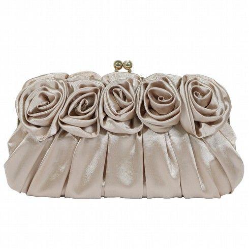 Ooh La La - Ooh La La Bags | Oohlala Handbags | Oohlala Designer Handbags | Oohlala Accessories | Oohlala Jewellery - FROU FROU OE-0004 ROSE & GATHER FRAMED EVENING CLUTCH