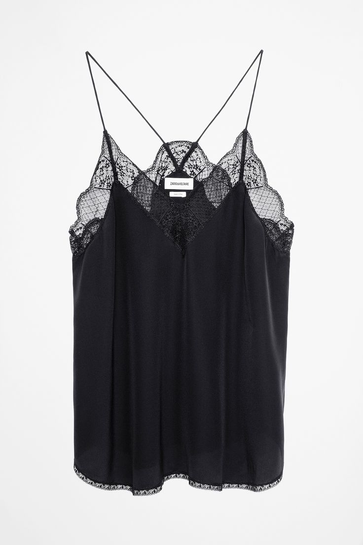 Christy Camisole, black, Zadig & Voltaire