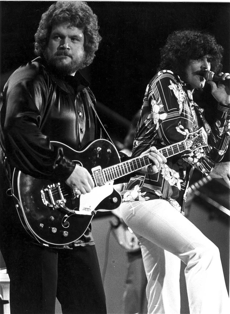 Randy Bachman & Burton Cummings - Midnight Special Taping June 1978 - photo by D.M. Perich