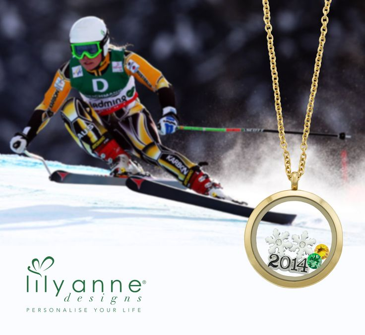 {Sending Love to our Winter Olympians} Is your Lily Anne Designs Personalised Locket ready for the Winter Olympics?