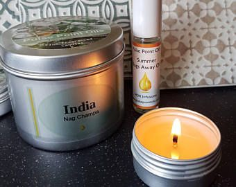 India Nag Champa Pulse Point Oils fragrant soy wax candle. Clean long burn natural wax candle. Incense scented candle Yoga meditation candle #soycandle #naturalwax #cleanburncandle #candleinatin #india #nagchampa #yoga #meditationcandle #aromaticcandles #summercollection #candlgift #housewarminggift #hostessgift #giftforher #giftforhim #soywaxcandle