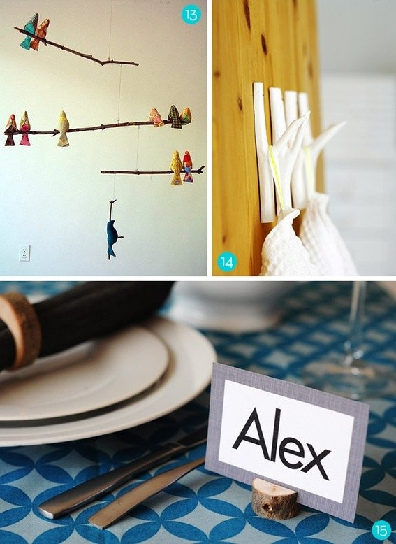 Roundup: 15 Awesome Things to Make with Tree Branches and Limbs!