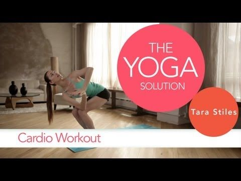 Yoga Cardio Workout | The Yoga Solution With Tara Stiles #yoga #video    http://www.livestrong.com/original-videos/Onr5x8hjVFE-yoga-solution-tara-stiles-cardio-workout/