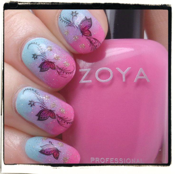 Tunay Na Mahal: Zoya Delight: Butterfly Gradient