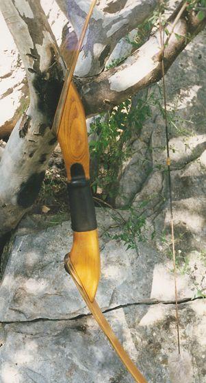 Osage orange recurve bow by Holden Custom Take-Down Recurve Bows
