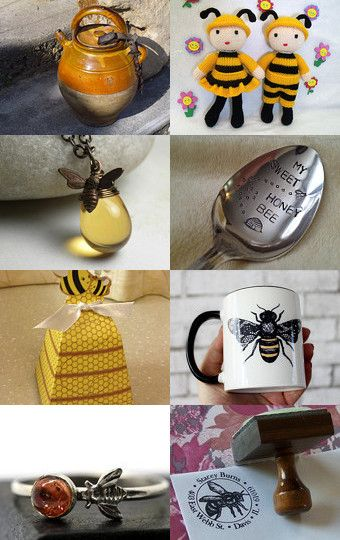 Busy Bees by Ash on Etsy--Pinned with TreasuryPin.com