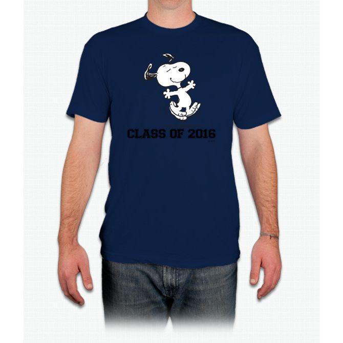 Dancing Snoopy Graduate 2 Charlie Brown - Men T-Shirt