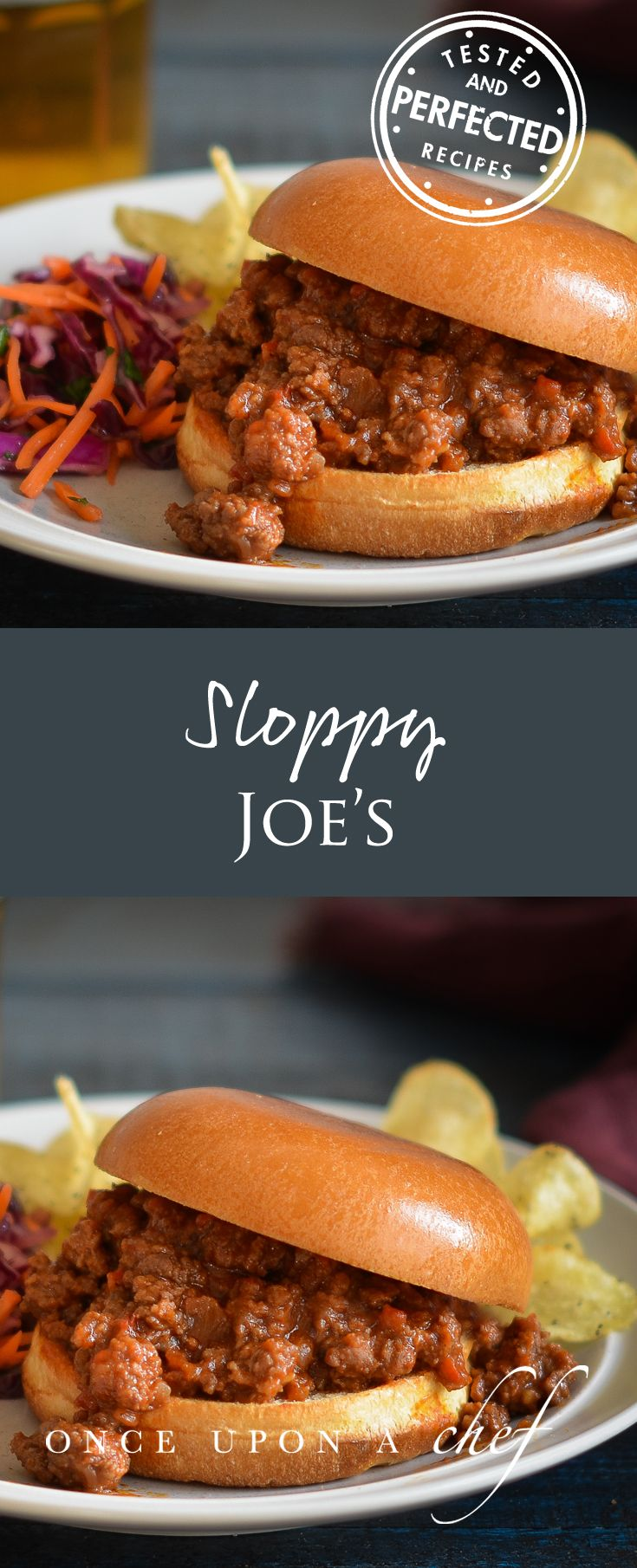 Sloppy Joe's by Once Upon A Chef