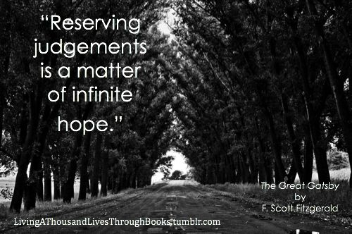 Reserving Judgements is a matter of infinite hope