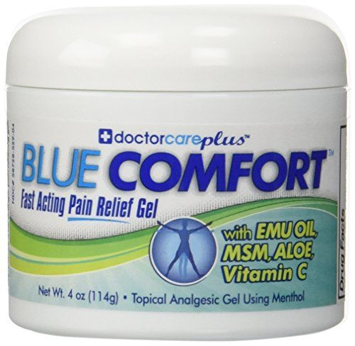Doctor Care Plus Pain Relief Cream with Emu Oil, MSM, Aloe, Vitamin C, 4 oz