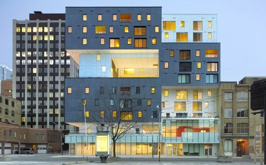 60 Richmond by Teeple...super modern affordable housing.  Oh Canada...I'm jealous