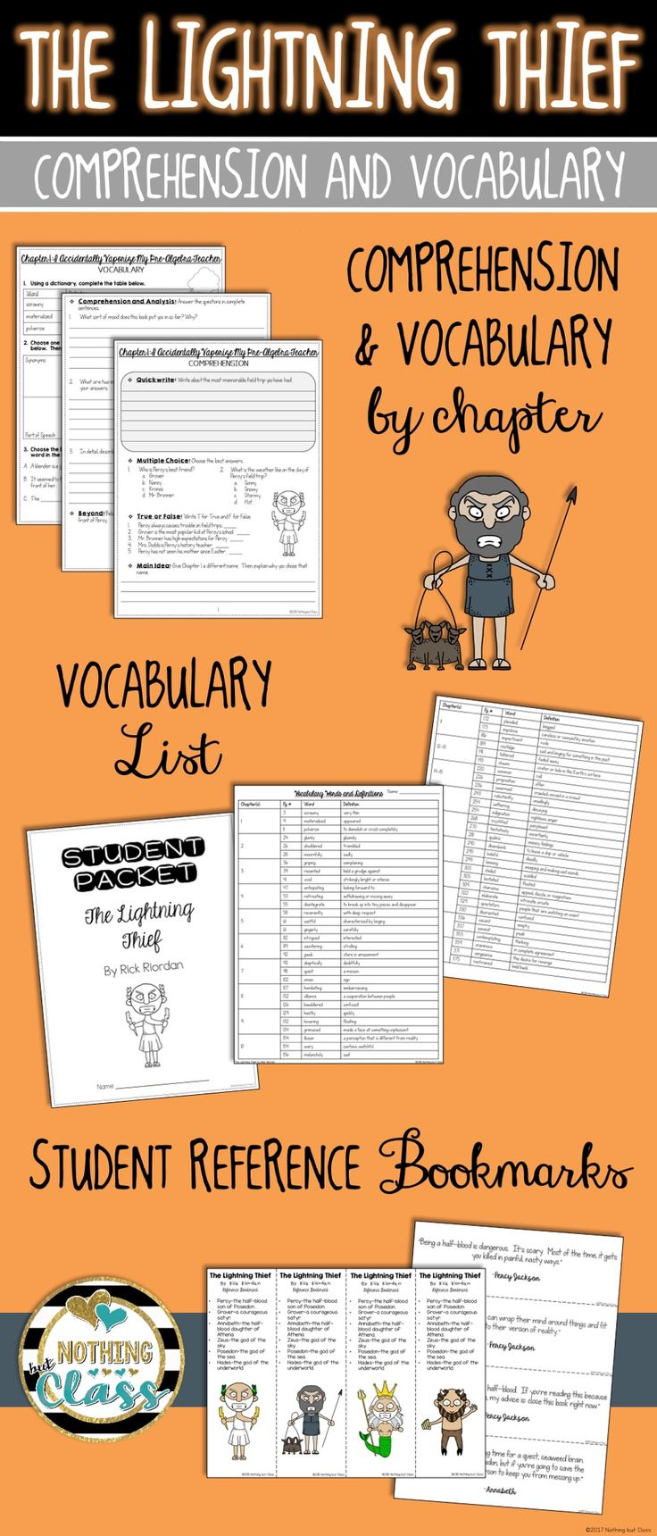 Workbooks percy jackson and the lightning thief worksheets : 50 best the lightning thief images on Pinterest | Book stuff ...
