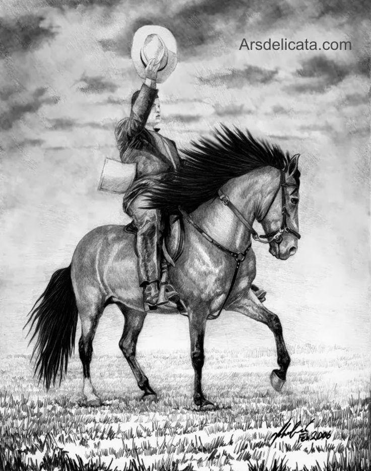 bonitos-caballos-dibujados-a-lapiz